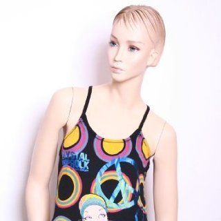 Crystal Rock Tank Top WANT TO TAKE YOU HIGHER, black