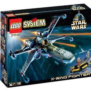 LEGO 7140 Star Wars X Wing Fighter Classic Spielzeug