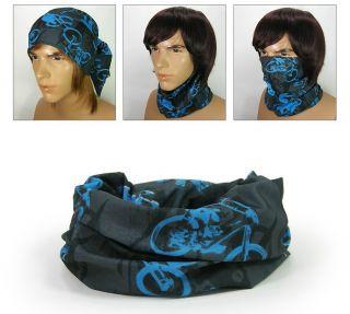MS351 Multi Function Scarf  Headwear UV COOLMAX Bandana Tube Mask