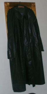 Mantel Regenmantel Vintage Latex Rubber Raincoat Herren Mantel 344