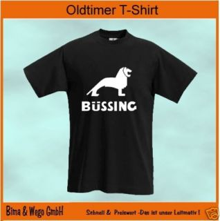 LKW Oldtimer T Shirt BÜSSING alle Größen + Farben 344