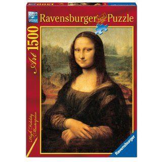 Ravensburger Puzzle 1500 Teile   Die Mona Lisa, Leonardo (Code 16225