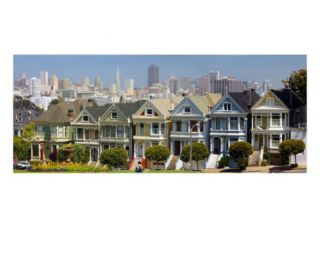 San Francisco Painted Ladies Photographic Print by Anna Miller