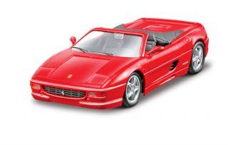 Maisto Ferrari F335 Spider Cabrio Kit Bausatz Modellbau Modell Auto 1