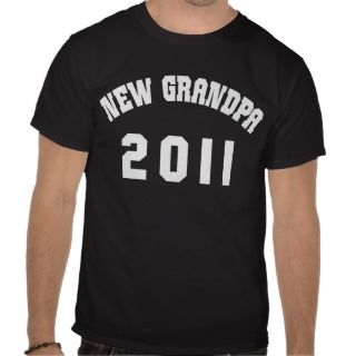 New Grandpa 2011 Dark T Shirt