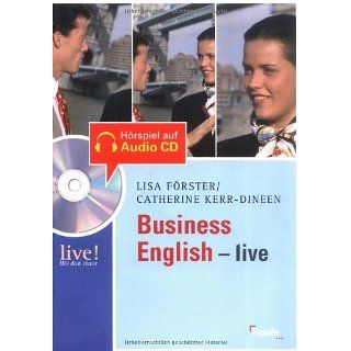 Business English   live mit Hör CD Lisa Förster