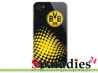 Apple iPhone 4 Case Cover BVB 09 Borussia Dortmund Hülle schwarz