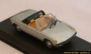 43   VW Porsche 914 4 CABRIO 1969 silber   Detail Cars Art. 341