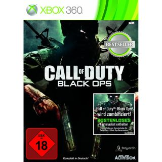 of Duty 7   Black Ops (Classics) XBOX 360  NEU+OVP