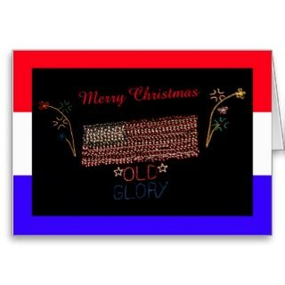 Christmas Greeting Card for Military Troops