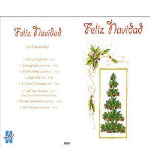 Weihnachtskarte mit CD   Feliz Navidad: Diverse: Englische