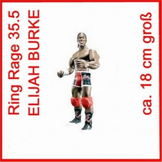 WWE Wrestling Figur Serie 35.5 Ring Rage ELIJAH BURKE