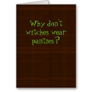 Funny Halloween Card cards by yourmamagreetings