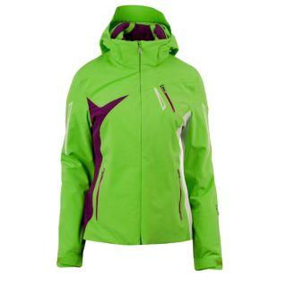 Spyder Damen Skijacke Artemis Jacket grün lila weiß