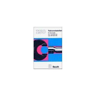 ISO 286 DIN Deutsches Institut für Normung e. V. Bücher