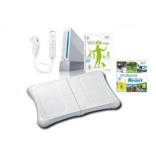 Wii Konsole, Nintendo, Wii Fit Plus Set weiß Ihr persönlicher