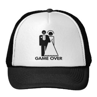 Married   Game Over Mesh Hats