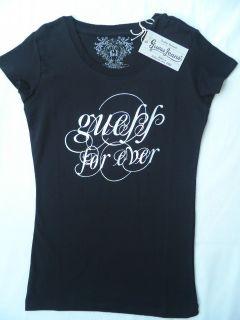 GUESS JEANS Damen T Shirt schwarz Größe XS +NEU+