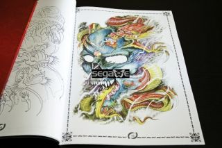 LEGEND OF DRAGONS TATTOO FLASH ART MAGAZINE MANUSKRIPTE