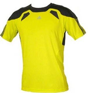 Adidas ClimaCool 365 Herren T Shirt Laufshirt Gelb NEU