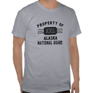 Property of Alaska National Guard Tees