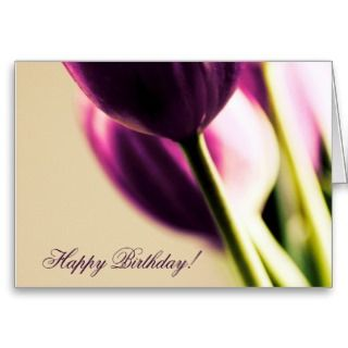 Happy Birthday Greeting Card Template, Beautiful T