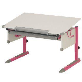 Kettler 06604 290 College Box Kinderschreibtisch pink / weiss