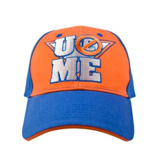 JOHN CENA Orange Never Give Up Baseball Cap Hat WWE