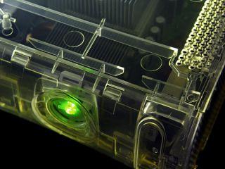 HÜLLE CRYSTAL CLEAR DURCHSICHTIG FÜR XBOX 360 HDMI KONSOLE