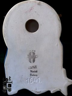 KIND  KERAMOS Art Déco Wall Mask Keramik Figur Figurine Stone 378