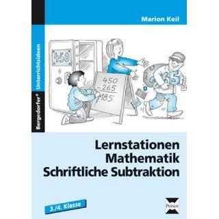 Lernstationen Mathematik: Schriftliche Subtraktion: 3. und 4. Klasse
