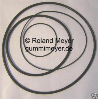 Riemen Satz Sony TC 378 TC378 drive belt kit 4 belts
