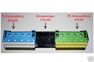 Hager GD 60200 Klemmträger 7xN 7xPE