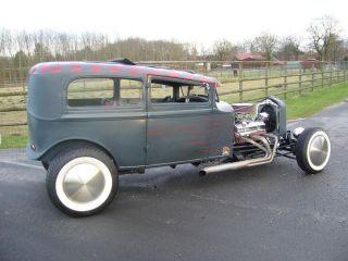 Ford Hot Rod Steel Body 1933 / Oldstyle/ 383 cui / Top