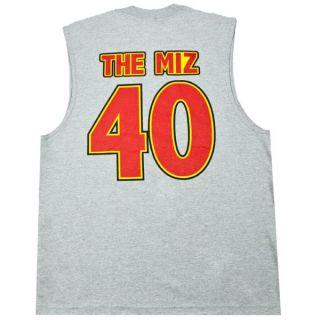 The Miz Im Awesome Sleeveless Gray WWE T shirt New