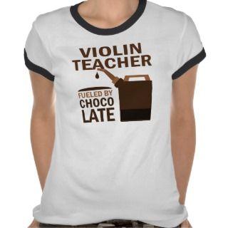 Violin Teacher (Funny) Chocolate Tees