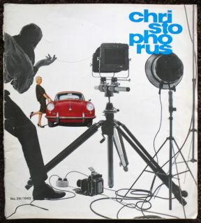 CHRISTOPHORUS PORSCHE OWNERS CAR MAGAZINE MAY 1962   NO.39 ENGLISH