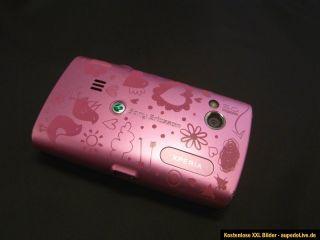 SONY Ericsson XPERIA X10 mini pro HANDY schwarz/pink (Ohne Simlock