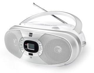 Dual P 390 Portable Boombox (CD Player , Radio UKW/MW, USB