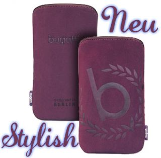 Original Bugatti RaspBerry Case Tasche f HTC Sensation XE with Beats