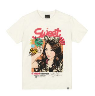 ARA (TIARA)   Pop Art FACE Short Sleeves T Shirts (Limited Edi
