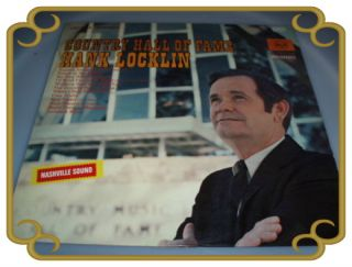 TOP Hank Locklin Country Hall of Frame LP *TOP