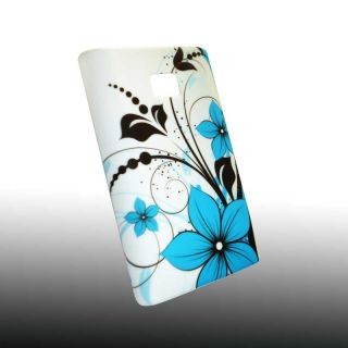Handy Tasche Hard Case Cover für LG E400 Optimus L3 / Design 06