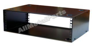 3U 19 STACKABLE METAL DESKTOP RACK 300mm CABINET Front Rear Fxg Audio