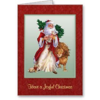 Vintage Christmas St.Nicolas card