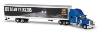 Ice Road Truckers Peterbilt 389 Blue Diecast Model Truck 1 87 Scale