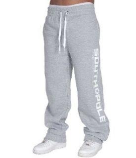 SOUTHPOLE Basic Logo Jogginghose  heather grey