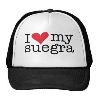 Love My Suegra (Mother In Law) Baseball Cap hats by QuePartyTanFancy