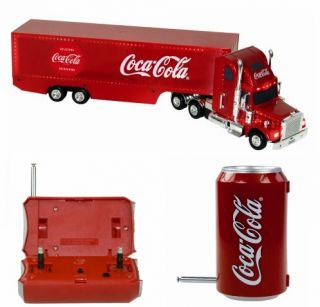 Coca Cola 54cm Truck mit Fernsteuerung