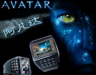 Dual Handyuhr 1,4 Touchscreen Handy Uhr Watch phones AVATAR MODEL ET1